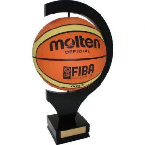 Basketball Display Mount T4003