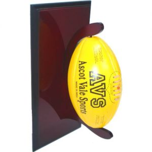 Single Football Plaque Stand T4009