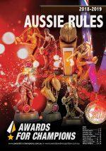 Awards Champion Aussie Rules 2018 2019