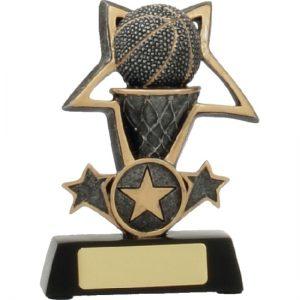 Basketball Trophy Tri-Star