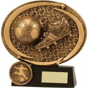 Football-Soccer Memento Plaque