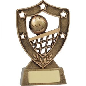 Volleyball Trophy Shield