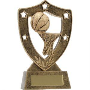 Basketball Trophy Shield