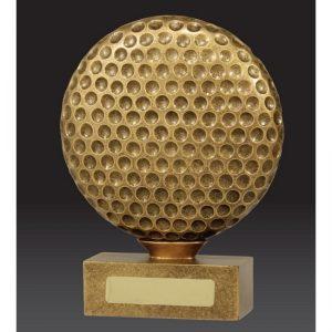 Golf Trophy The Ball
