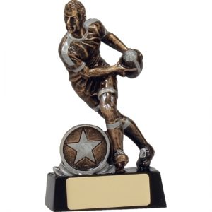 Rugby Trophy Action Player
