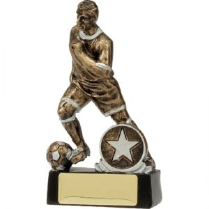 Football-Soccer Trophy Action Male