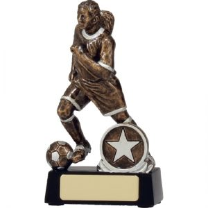 Football-Soccer Trophy Action Female