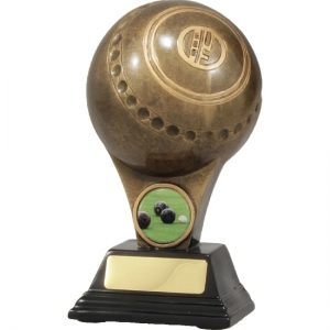 Bowls Trophy With 25mm Centre