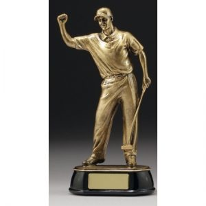 Golf Trophy Celebration