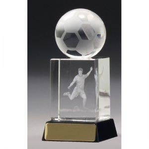 Football-Soccer Crystal Hologram